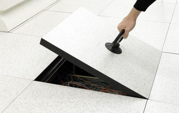 Raised flooring